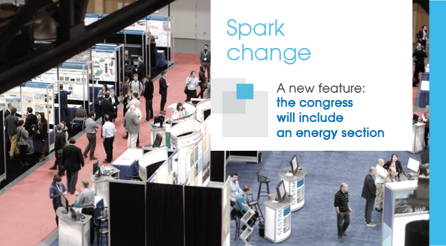 Spark change - A new feature: the congress will include an energy section